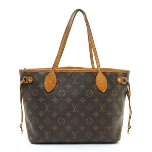 Auth Louis Vuitton Neverfull Pm Tote #6485L41